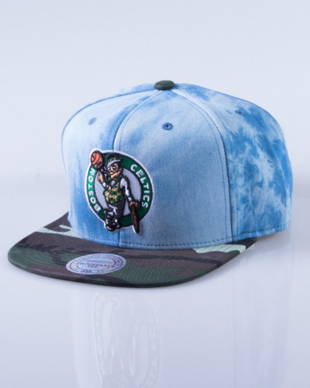 MITCHELL & NESS CZAPKA SNAPBACK BOSTON CELTICS DENIM CAMO