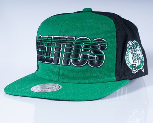 MITCHELL & NESS CZAPKA SNAPBACK EU012 BOSTON CELTICS