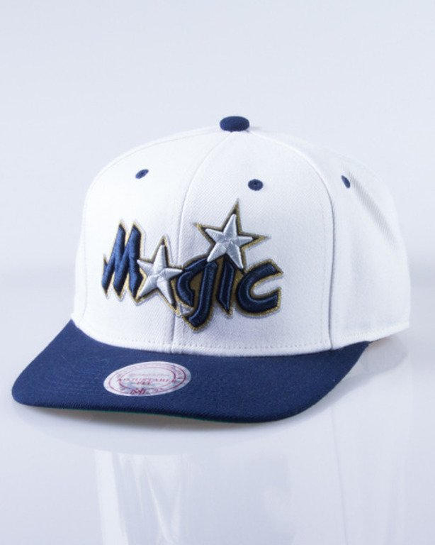 MITCHELL & NESS CZAPKA SNAPBACK NL16Z ORLANDO MAGIC CREAM