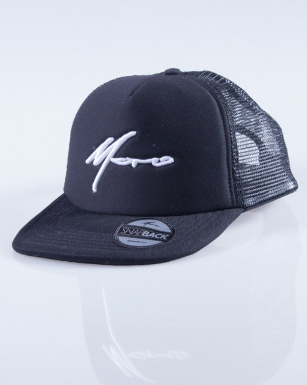 MORO CZAPKA TRUCKER PARIS BLACK