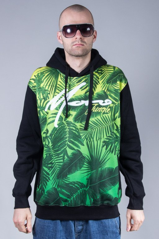 MORO SPORT HODDIE JUNGLE BLACK