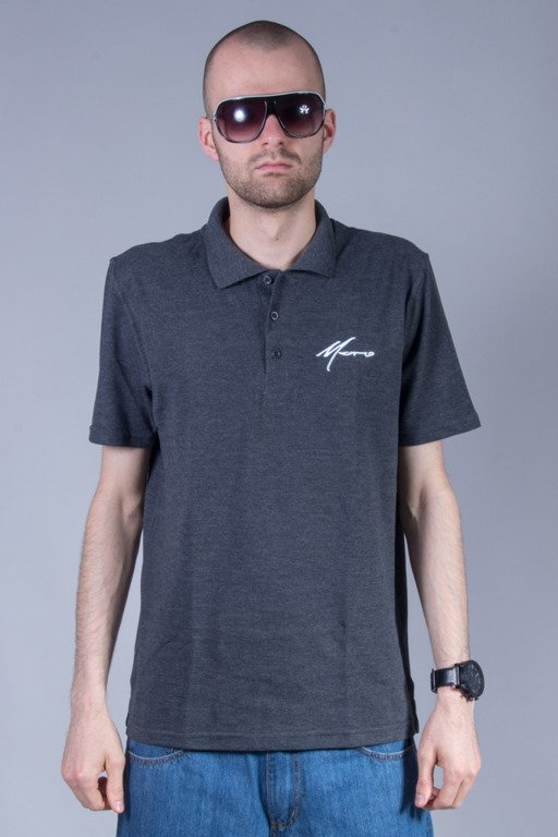 MORO SPORT POLO PARIS GREY