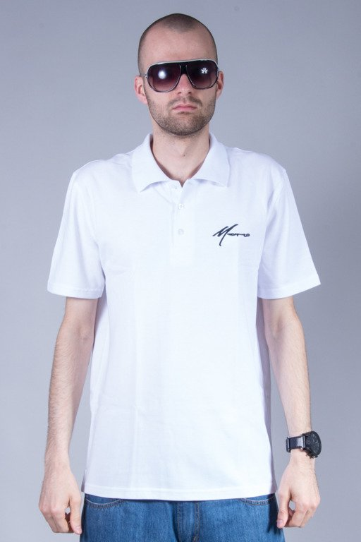 MORO SPORT POLO PARIS WHITE