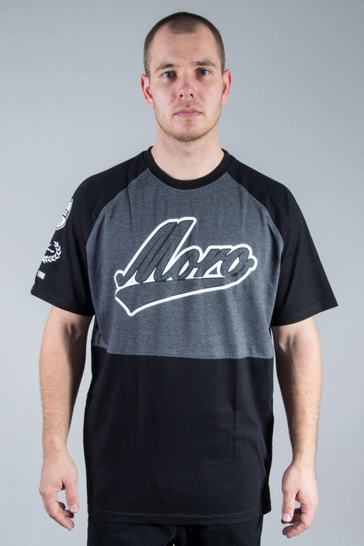 MORO SPORT T-SHIRT DOUBLE BASEBALL BLACK