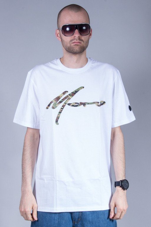MORO SPORT T-SHIRT PARIS CAMO WHITE