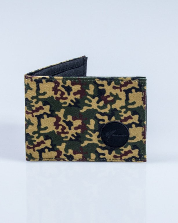 MORO SPORT WALLET PARIS CAMO GREEN