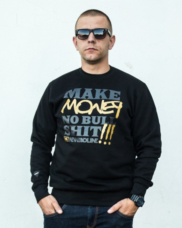 NEW BAD LINE CREWNECK MONEY BLACK