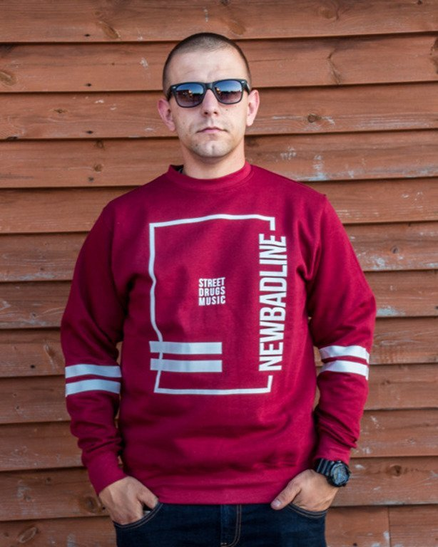 NEW BAD LINE CREWNECK SDM BRICK