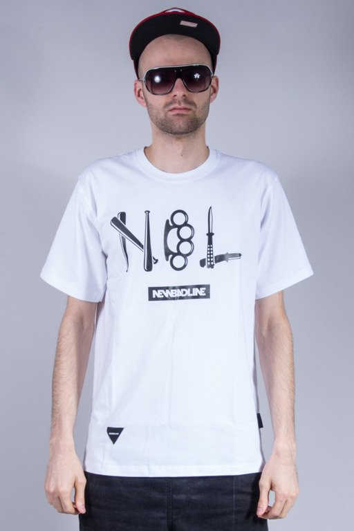 NEW BAD LINE KOSZULKA CRIME NEW WHITE