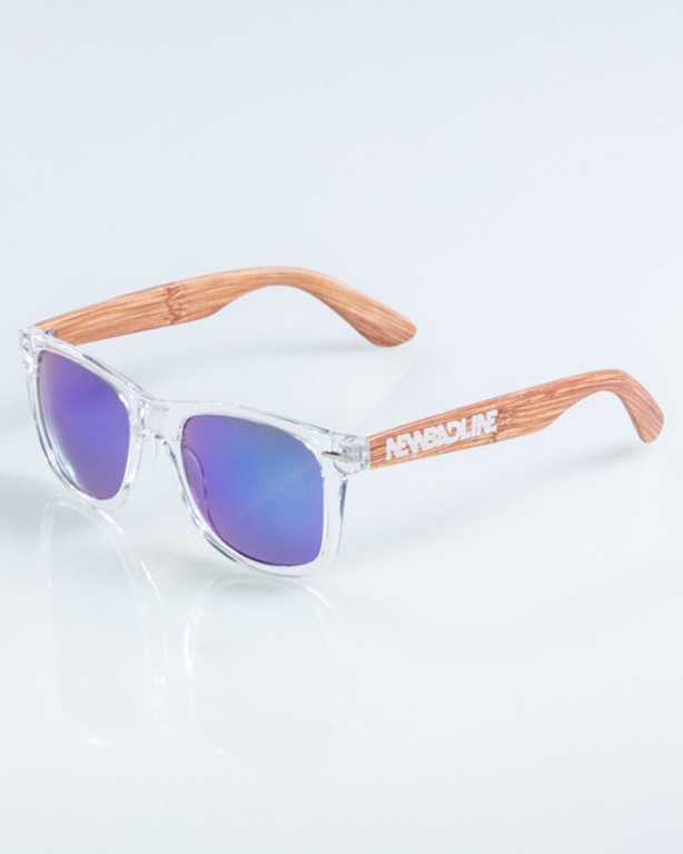 NEW BAD LINE OKULARY HALF WOOD 923