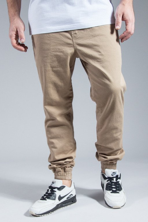 NEW BAD LINE PANTS CHINO JOGGER BASKET BEIGE
