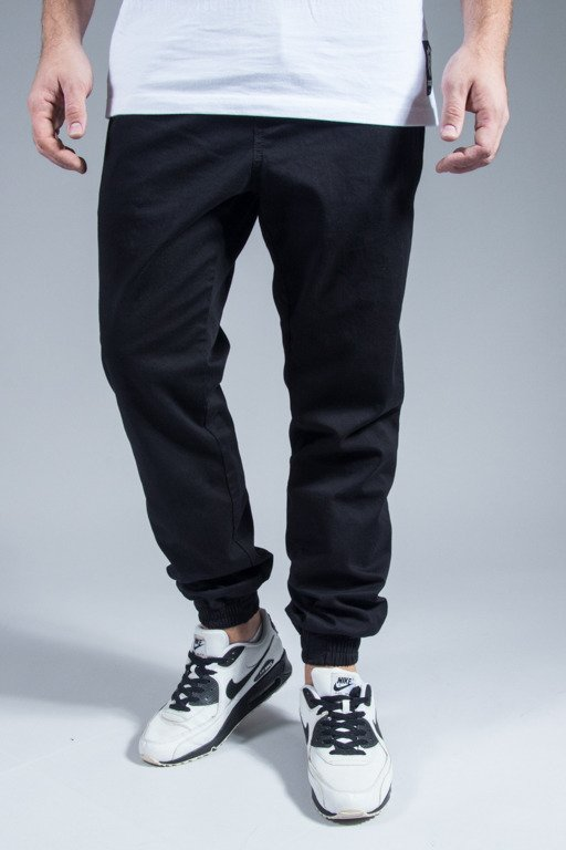 NEW BAD LINE PANTS CHINO JOGGER BASKET BLACK