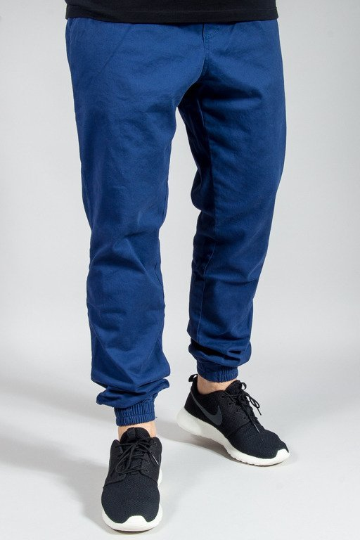 NEW BAD LINE PANTS CHINO JOGGER ICON BLUE