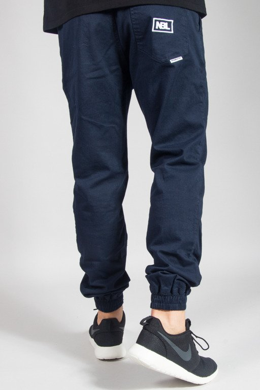 NEW BAD LINE PANTS CHINO JOGGER ICON NAVY