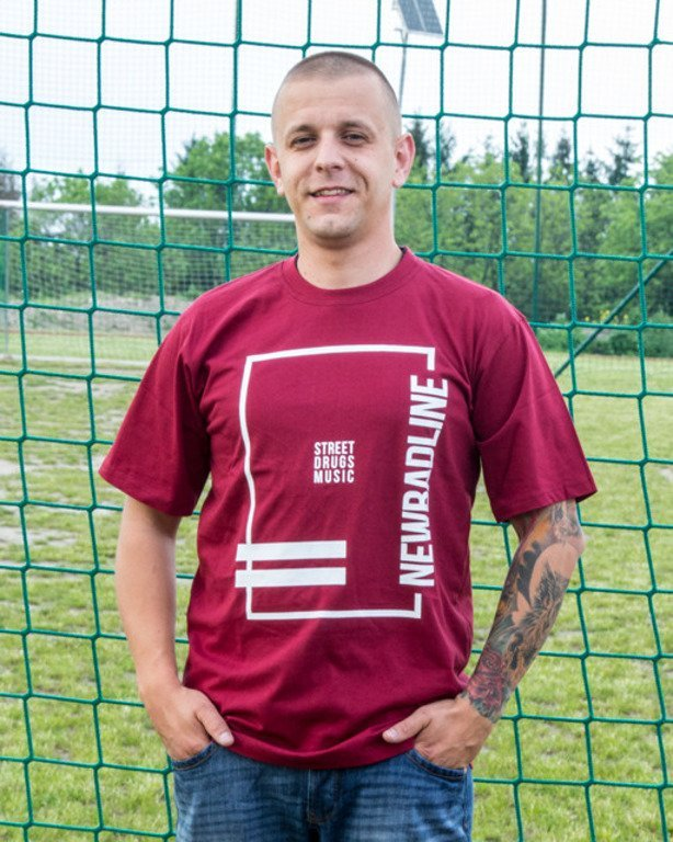 NEW BAD LINE T-SHIRT SDM BRICK
