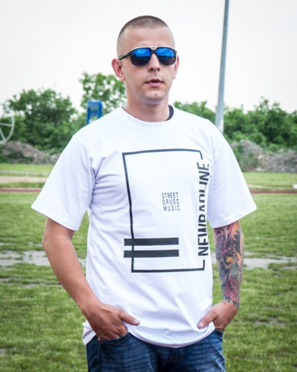 NEW BAD LINE T-SHIRT SDM WHITE
