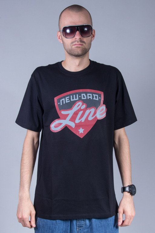 NEW BAD LINE T-SHIRT SHIELD BLACK
