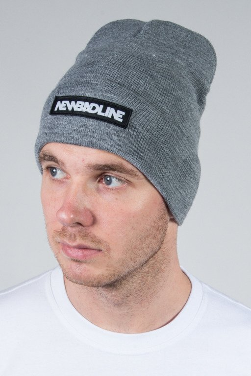 NEW BAD LINE WINTER CAP LOGO GREY