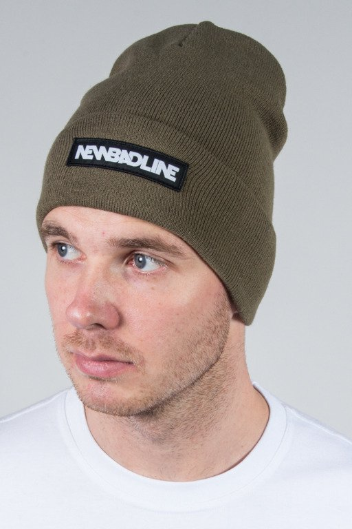 NEW BAD LINE WINTER CAP LOGO KHAKI