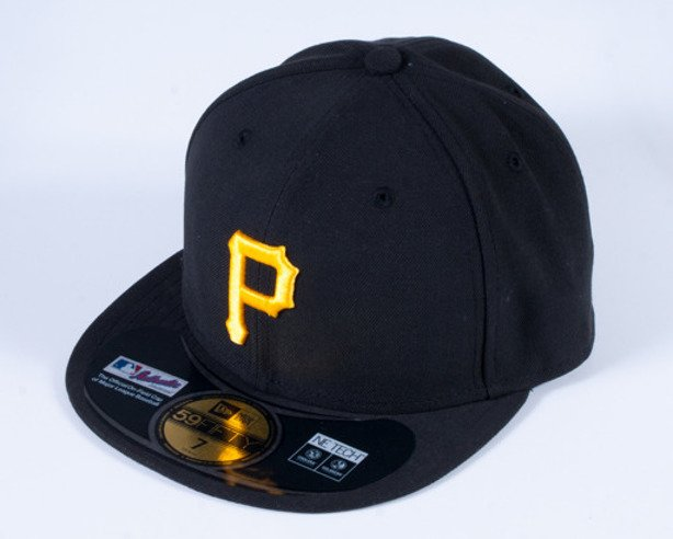 NEW ERA CZAPKA FULLCAP AUTHENTIC PITTSBURGH BLACK