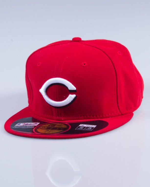 NEW ERA CZAPKA FULLCAP MLB AUTHENTIC 10047255 RED