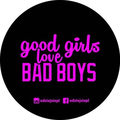 ODZIEJSIE WLEPKA GOOD GIRLS BLACK