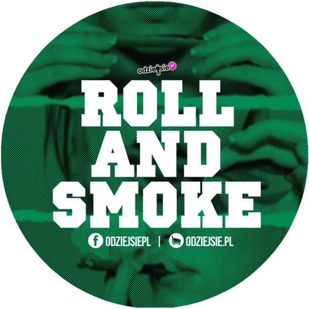 ODZIEJSIE WLEPKA ROLL AND SMOKE GREEN