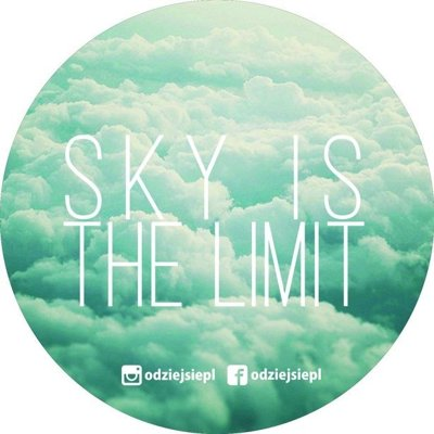 ODZIEJSIE WLEPKA SKY IS THE LIMIT