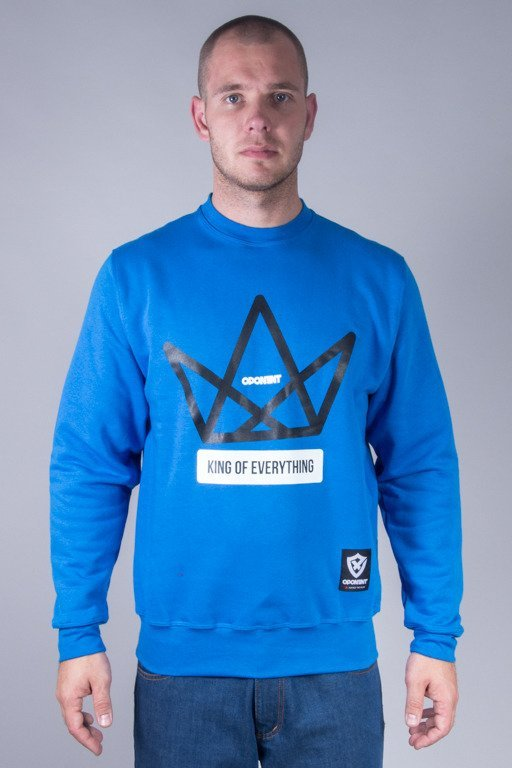 OPONENT CREWNECK KING BLUE
