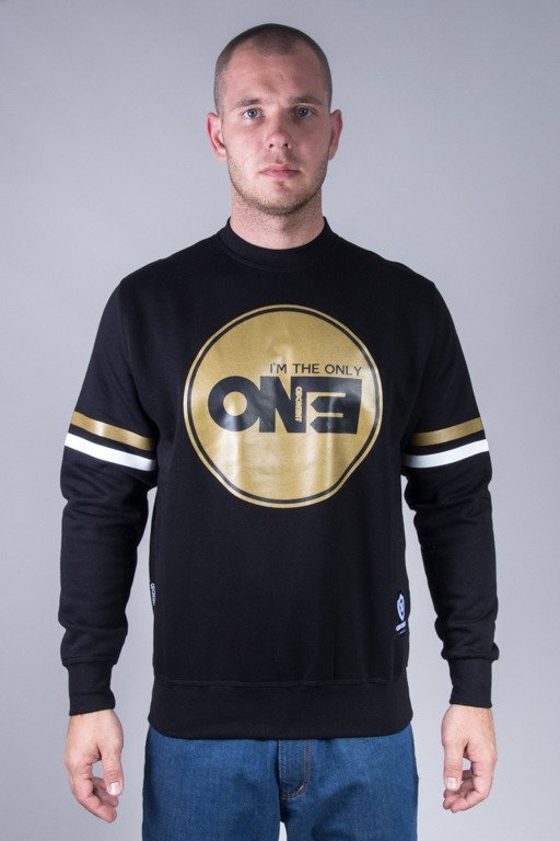 OPONENT CREWNECK ONLY ONE BLACK-GOLD