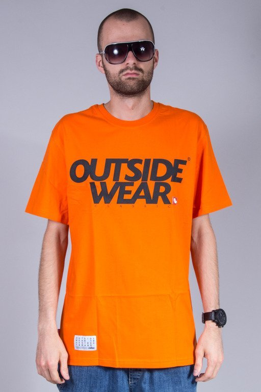 OUTSIDEWEAR T-SHIRT CLASSIC ORANGE