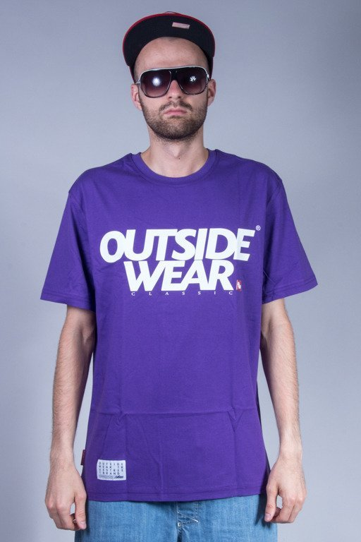 OUTSIDEWEAR T-SHIRT CLASSIC VIOLET