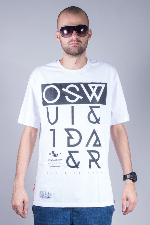 OUTSIDEWEAR T-SHIRT CROOKED2 WHITE