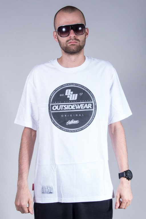 OUTSIDEWEAR T-SHIRT STICKER WHITE