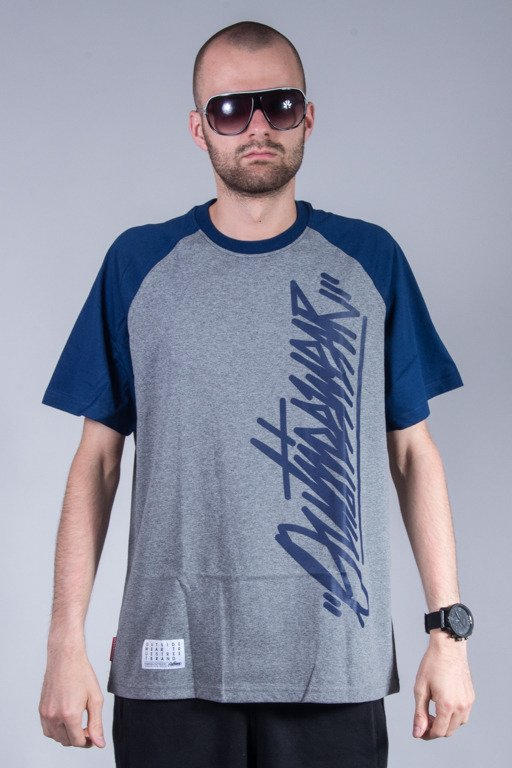 OUTSIDEWEAR T-SHIRT TAG GREY-NAVY