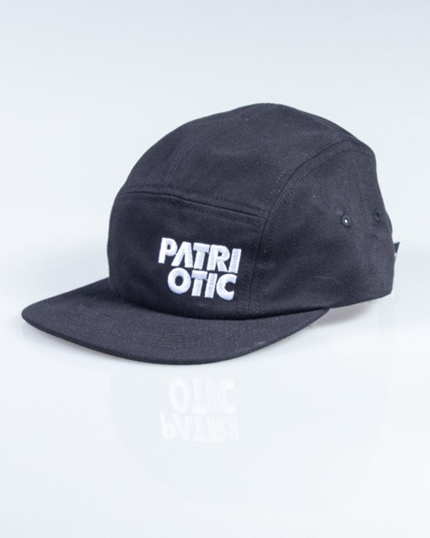 PATRIOTIC CAP 5PANEL CLS BLACK