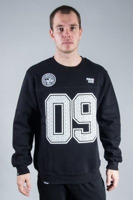 PATRIOTIC CREWNECK LOCAL SKULL 09 BLACK