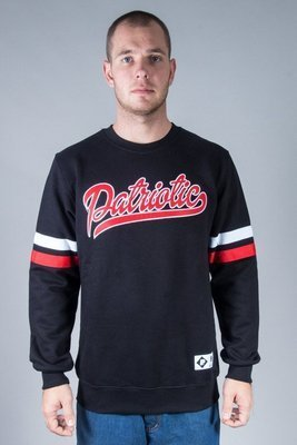 PATRIOTIC CREWNECK RAB TAG BLACK
