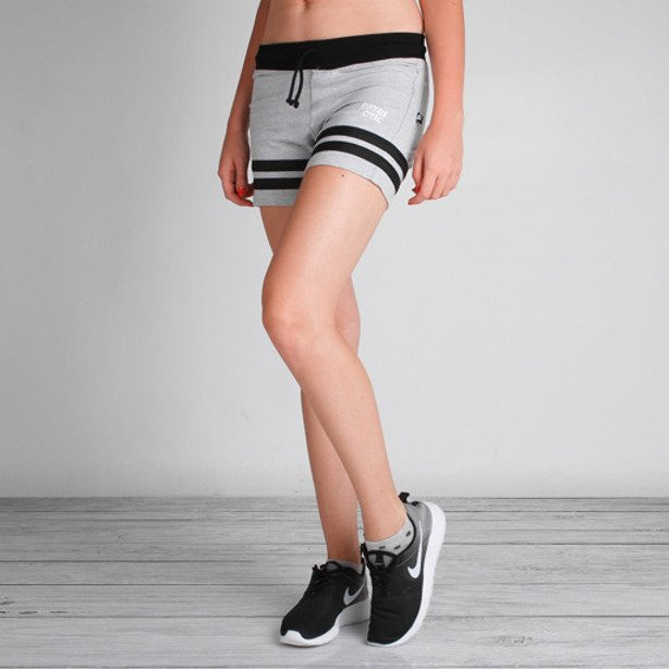 PATRIOTIC GIRL SHORTS CLS GREY