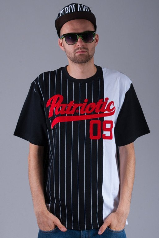 PATRIOTIC KOSZULKA STRIPES ATHLETIC BLACK