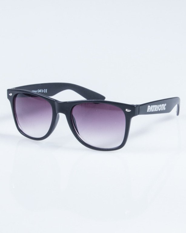 PATRIOTIC OKULARY CLASSIC BLACK BLACK 01