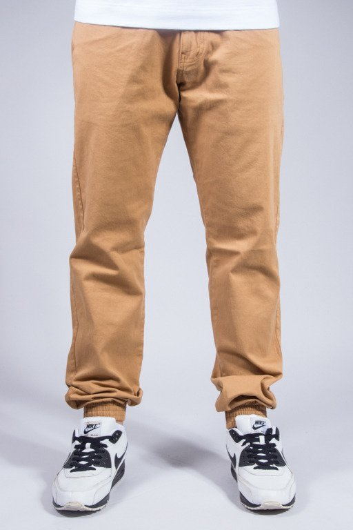 PATRIOTIC PANTS CHINO JOGGER CAMEL