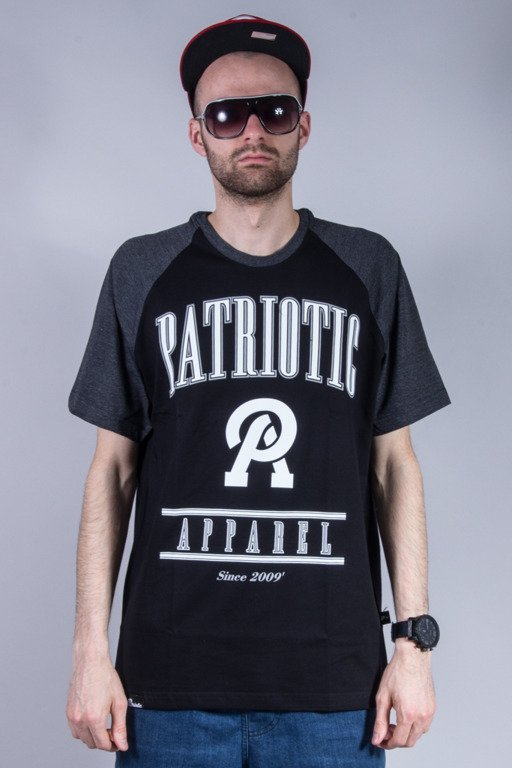 PATRIOTIC T-SHIRT APPAREL BLACK