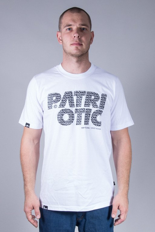 PATRIOTIC T-SHIRT CLS FONTS WHITE