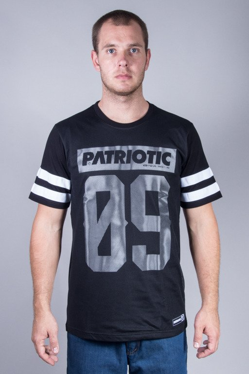 PATRIOTIC T-SHIRT MESH09 BLACK