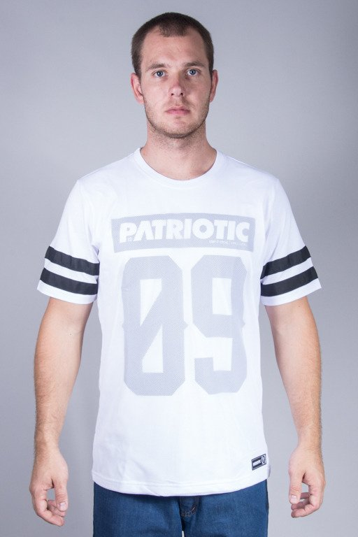 PATRIOTIC T-SHIRT MESH09 WHITE