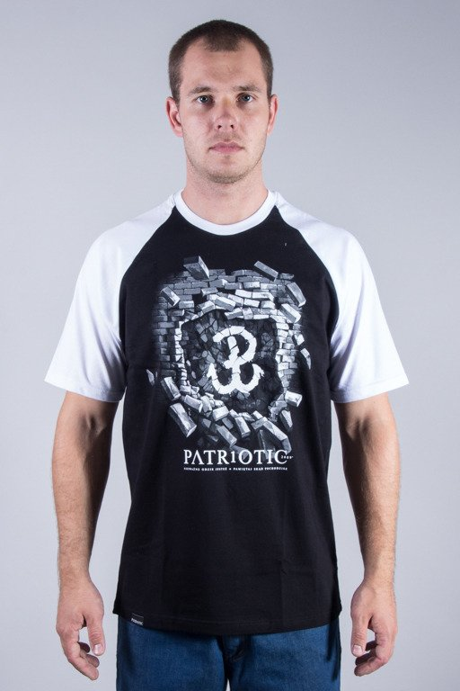 PATRIOTIC T-SHIRT WP BLACK-WHITE