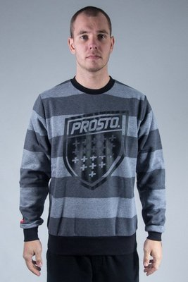 PROSTO CREWNECK PRISONER GREY-BLACK