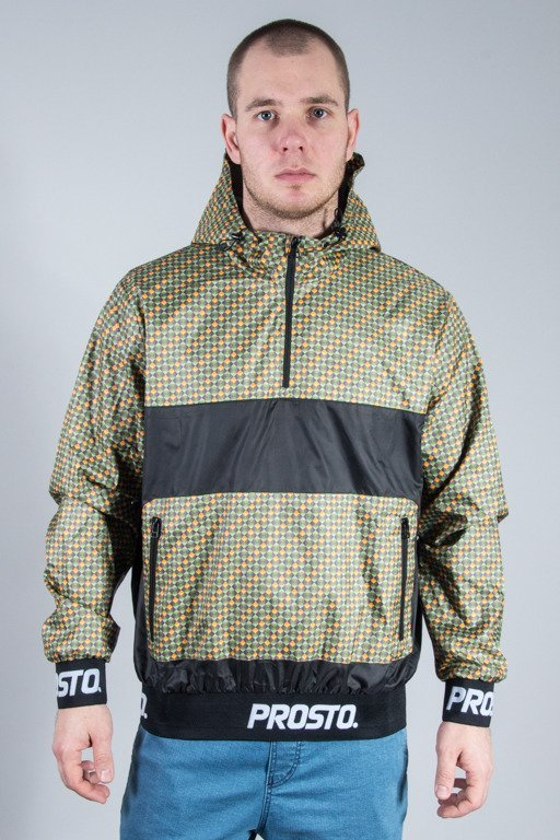 PROSTO JACKET WIND STOPPER NEW YORK BLACK