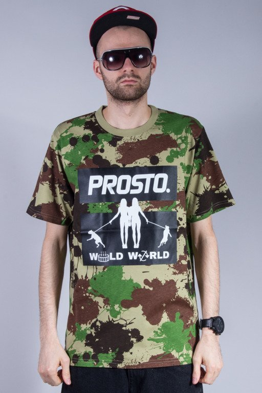 PROSTO KOSZULKA WORLD GIRLS CAMO